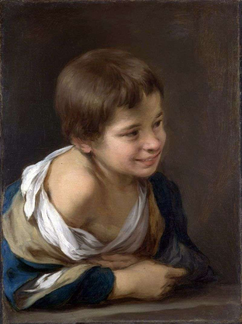 Селянський хлопчик   Бартоломе Естебан Мурільйо