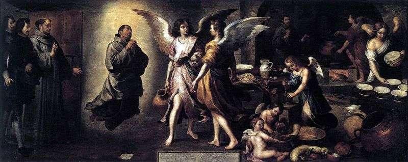 Кухня ангелів   Бартоломео Естебан Мурільйо