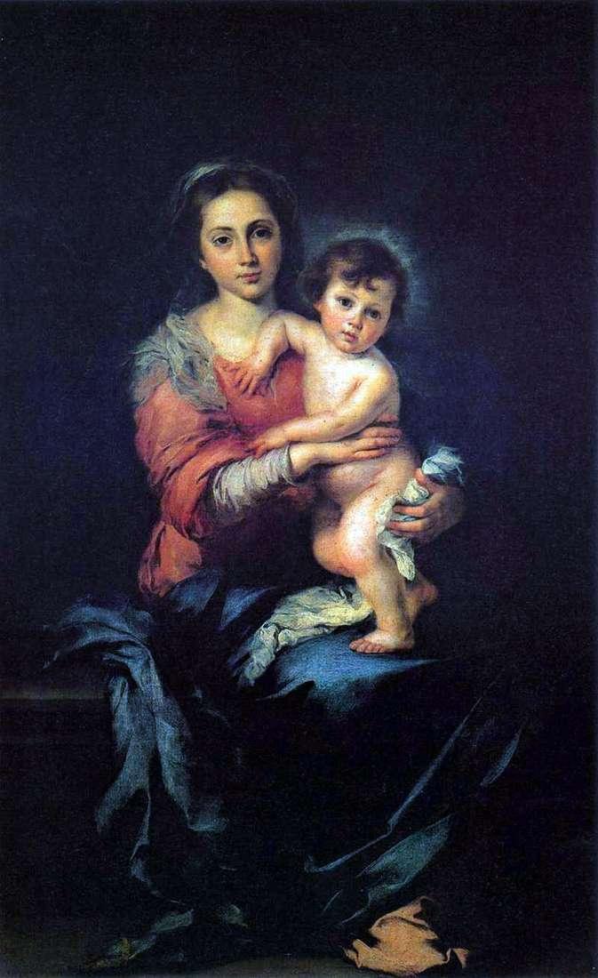 Мадонна з Немовлям   Бартоломе Естебан Мурільйо