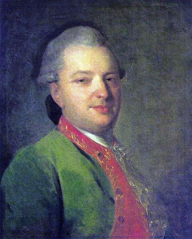Портрет В. І. Майкова   Федір Рокотов