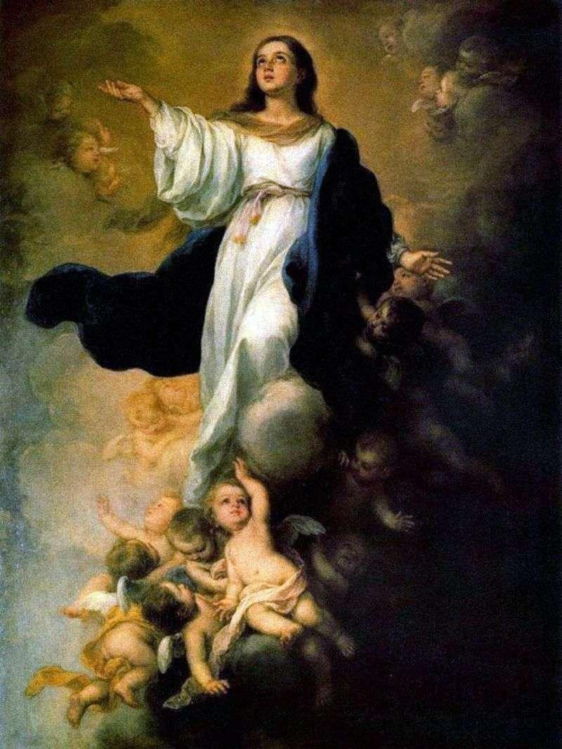Вознесіння Діви Марії   Бартоломе Естебан Мурільйо