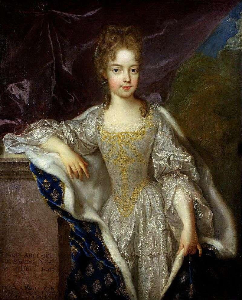 Портрет Аделаїди Савойської   Франсуа де Труа