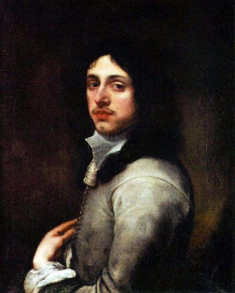 Портрет молодого чоловіка в сірому   Бартоломе Естебан Мурільйо