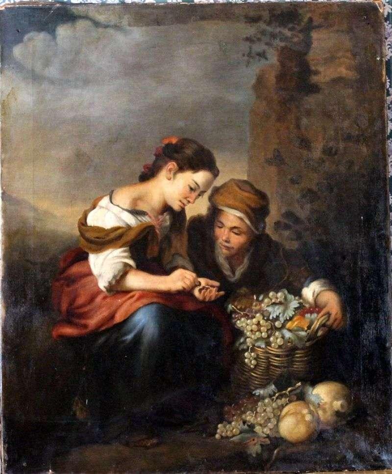 Продавщиця фруктів   Бартоломе Естебан Мурільйо