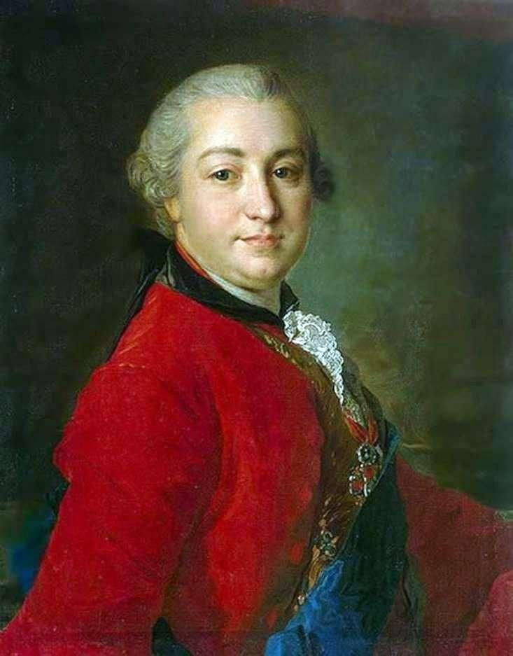 Портрет В. І. Шувалова   Федір Рокотов