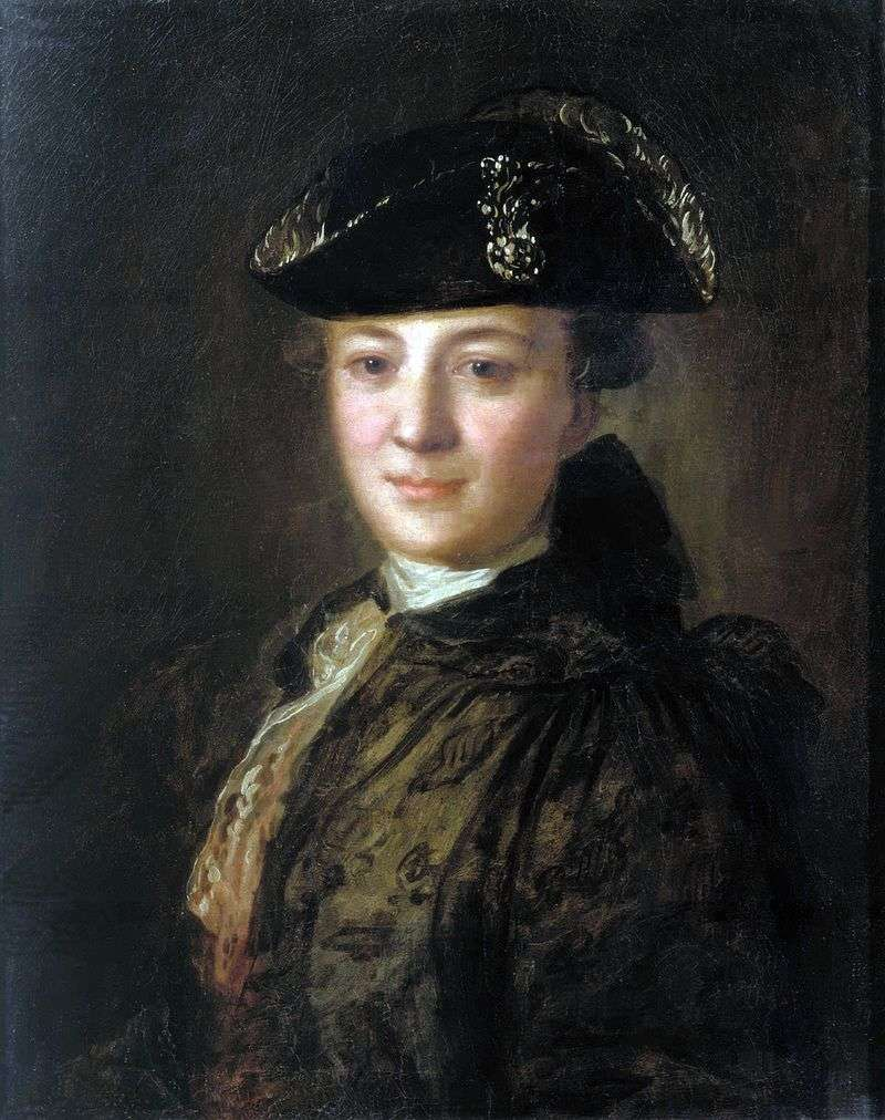 Портрет невідомого в трикутному капелюсі   Федір Рокотов