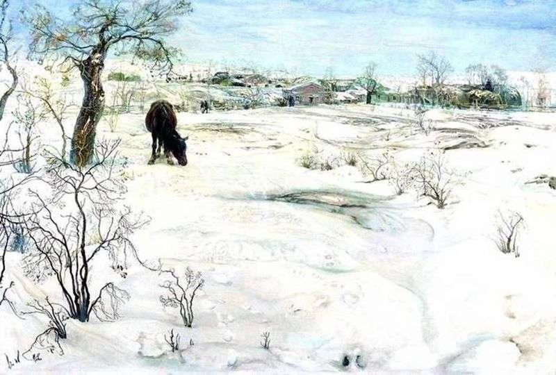Зима   Ісаак Бродський