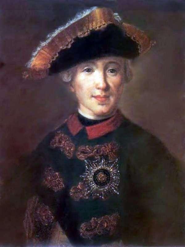 Портрет Петра Федоровича, в майбутньому Петра ІІІг   Федір Рокотов