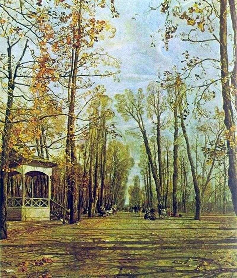 Літній сад восени   Ісаак Бродський