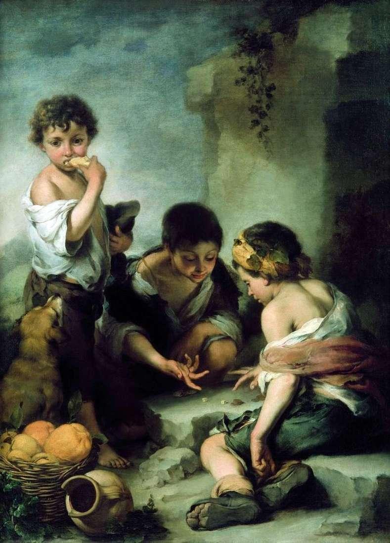Гравці в кості (Вуличні хлопчаки)   Бартоломе Естебан Мурільйо