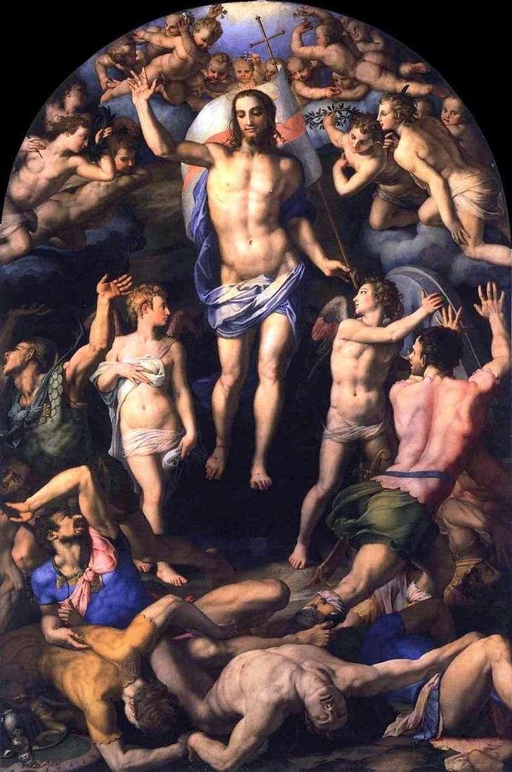 Воскресіння Христа   Аньоло Бронзіно