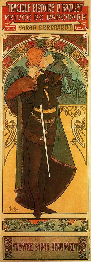 Гамлет, принц Датський   Альфонс Муха