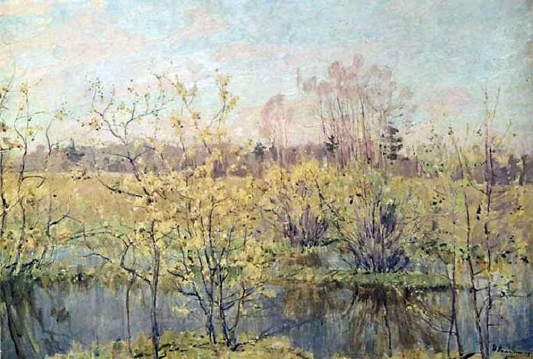 Перше цвітіння   Микола Ромадин