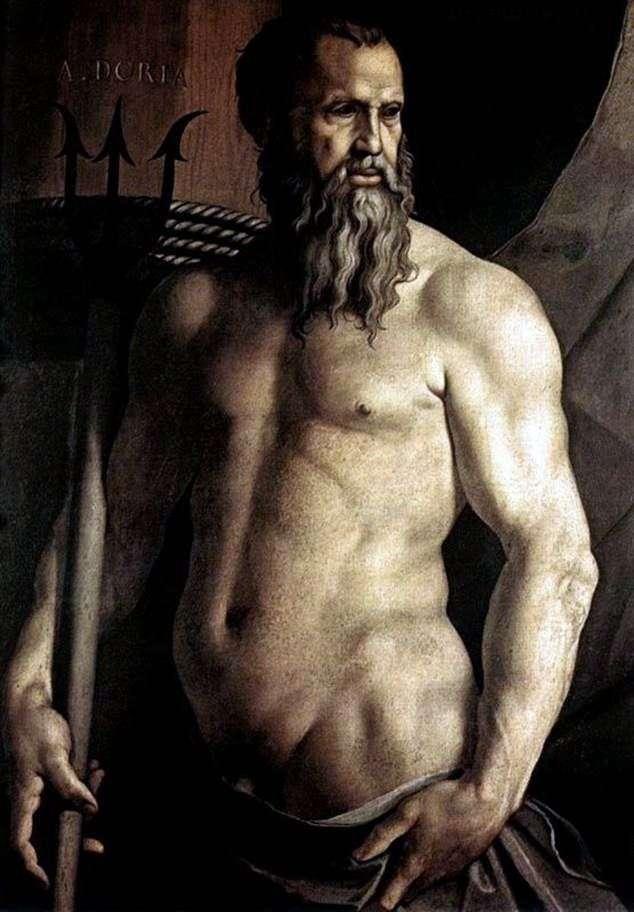 Портрет Андреа Доріа у вигляді Нептуна   Аньоло Бронзіно