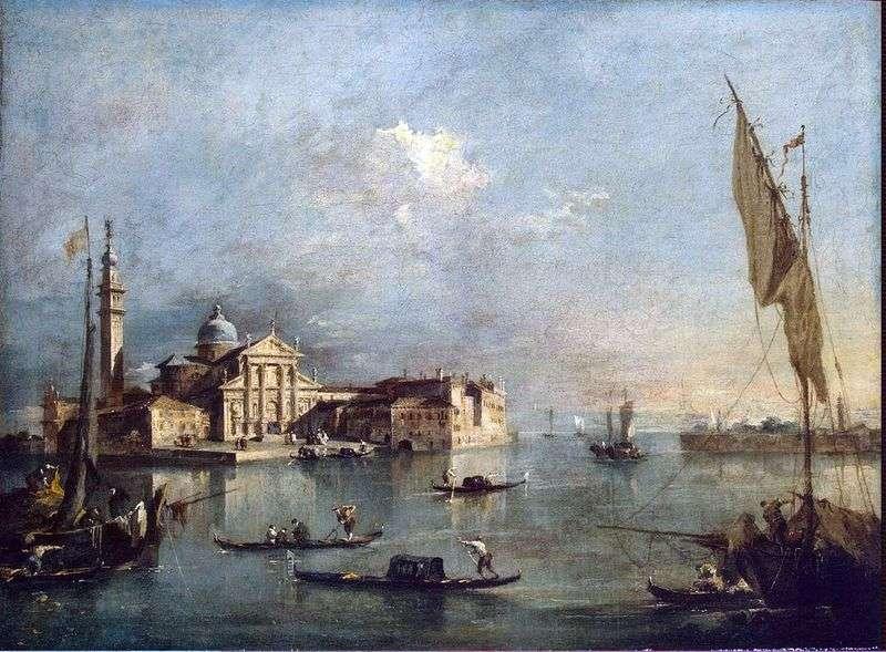Вид на острів Сан Джорджо і Джудекка   Франческо Гварді